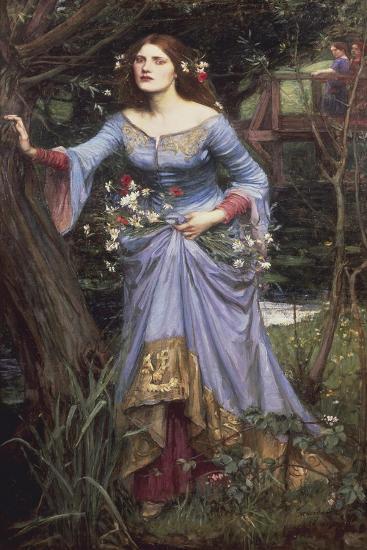 Ophelia, 1910-John William Waterhouse-Giclee Print