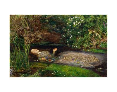 Ophelia, ca. 1851-John Everett Millais-Art Print