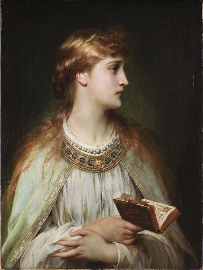 Ophelia, Ca 1864-Frank Dicksee-Giclee Print