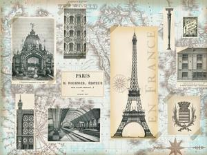 Paris Collage Global by Ophelia & Co.