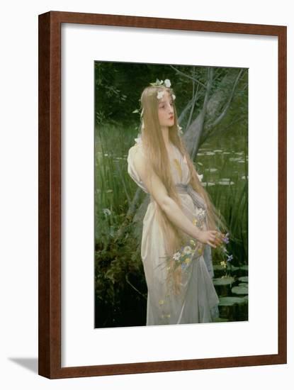 Ophelia-Jules Joseph Lefebvre-Framed Giclee Print