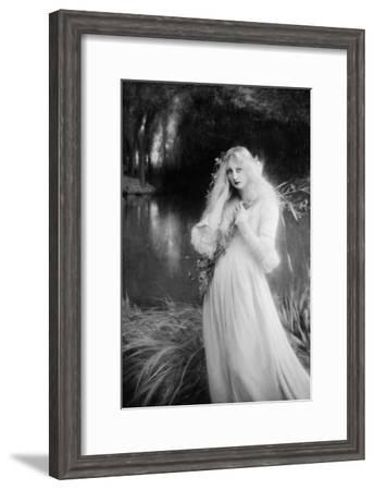 Ophélia-François Vizzavona-Framed Giclee Print