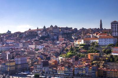 Oporto/Porto Rio Duero District of Colorful Buildings-Terry Eggers-Photographic Print