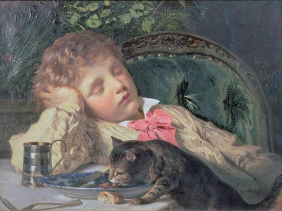 Opportune Moment-Sophie Anderson-Giclee Print