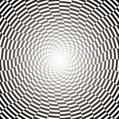 Optical Illusion Wallpaper:Raster Version-traffico-Art Print