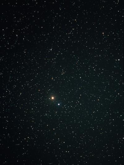Optical Image of Mars Near the Bright Star Spica-John Sanford-Photographic Print