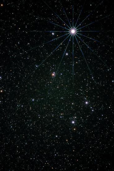 Optical Image of the Constellation of Lyra-Pekka Parviainen-Photographic Print