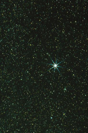 Optical Image of the Star Sirius-John Sanford-Photographic Print