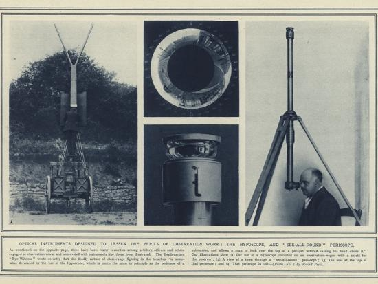 Optical Instruments Designed to Lessen the Perils of Observation Work--Photographic Print