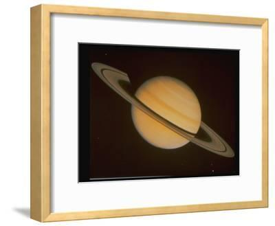 Optical Pictures Taken by Voyager 1 of Planet Saturn