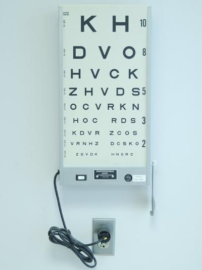 Optometrist's Eyesight Test Chart--Photographic Print