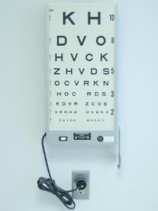 Optometrist's Eyesight Test Chart