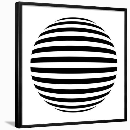 Optrix I-Sasha Blake-Framed Giclee Print
