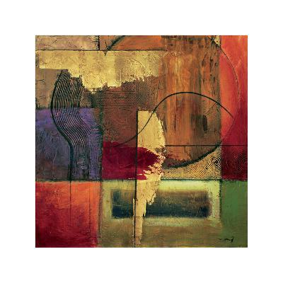 Opulent Relief II-Mike Klung-Giclee Print