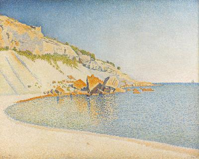 Opus 196, Cap Lombard, Cassis-Paul Signac-Giclee Print