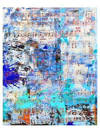 Opus inSaturdayBlue-Parker Greenfield-Art Print
