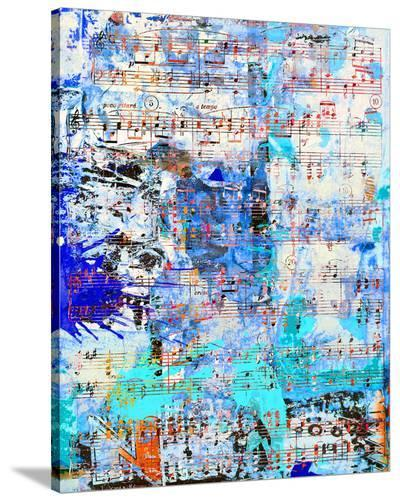 Opus inSaturdayBlue-Parker Greenfield-Stretched Canvas Print