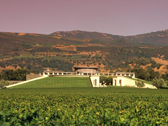 Opus One Winery Napa Valley California Photographic Print John Alves Art Com