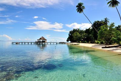 Ora Beach Moluccas Indonesia-Barry Kusuma-Photographic Print