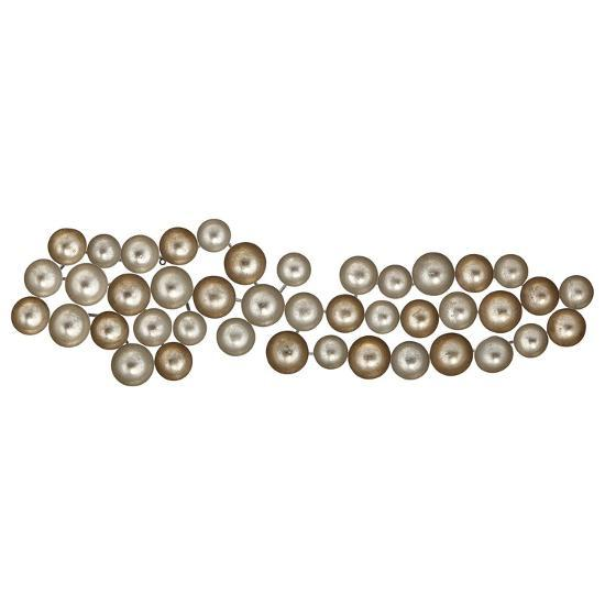 Ora Silver and Gold Wall Decor--Home Accessories