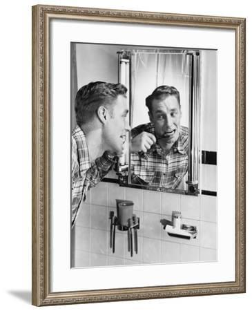 Oral Hygiene--Framed Photo
