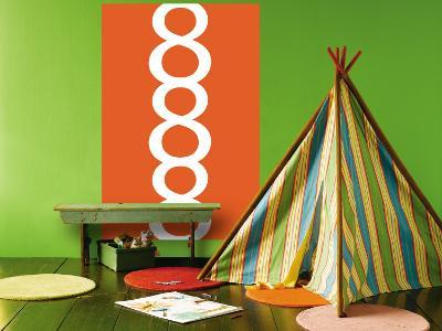 Orange 8-Avalisa-Wall Mural