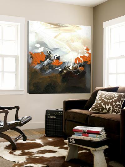 Orange Abstract-Meejlau-Loft Art