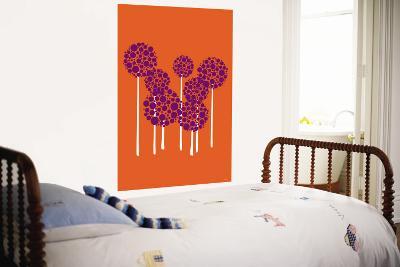 Orange Allium-Avalisa-Wall Mural