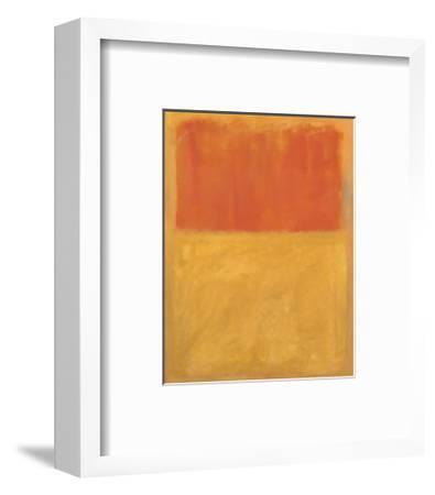 Orange and Tan, 1954-Mark Rothko-Framed Art Print