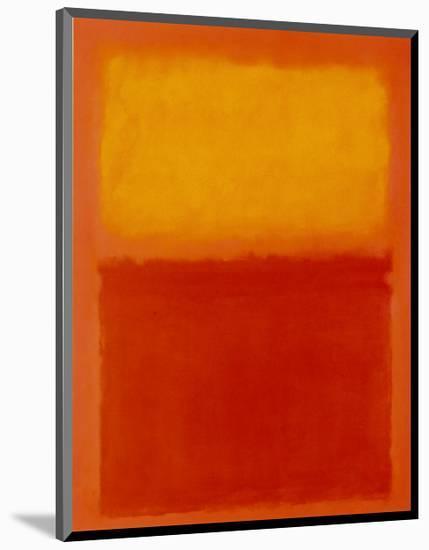 Orange and Yellow-Mark Rothko-Mounted Art Print
