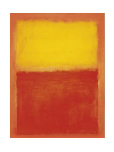 Orange and Yellow-Mark Rothko-Art Print