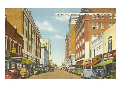 Orange Avenue, Orlando, Florida--Art Print