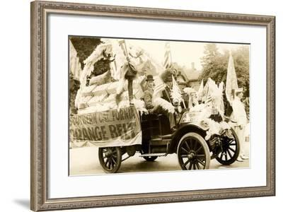 Orange Belt Float--Framed Art Print