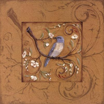 Orange Bird-Kate McRostie-Art Print