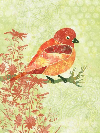 Orange Bird-Bee Sturgis-Art Print