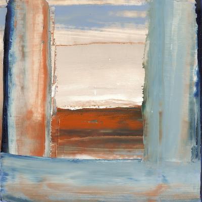 Orange & Blue I-Sharon Gordon-Premium Giclee Print