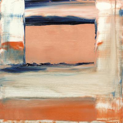 Orange & Blue II-Sharon Gordon-Premium Giclee Print