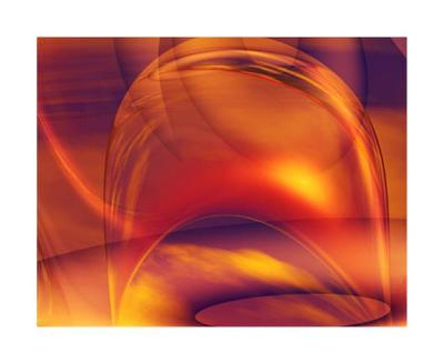 Orange Bubble-Menaul-Collectable Print