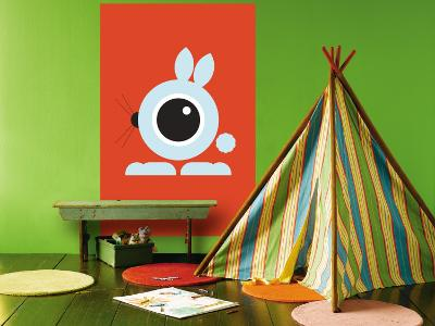 Orange Bunny Eye-Avalisa-Wall Mural