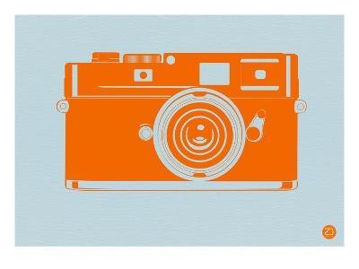 Orange Camera-NaxArt-Art Print