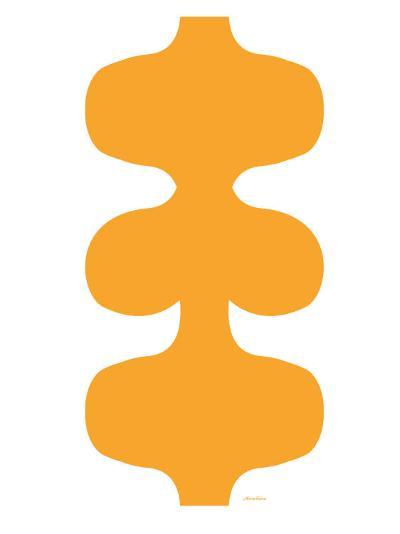 Orange Design, no. 115-Avalisa-Art Print