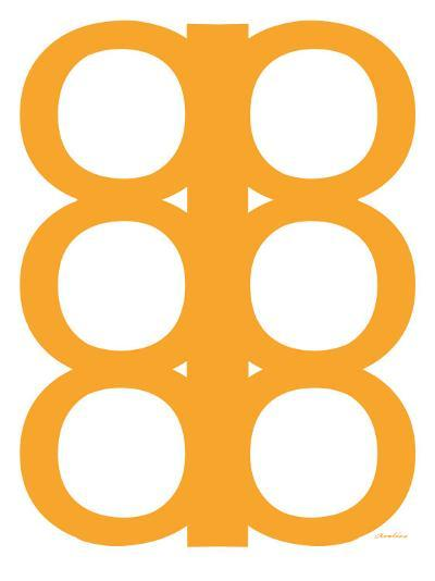 Orange Design, no. 300-Avalisa-Art Print