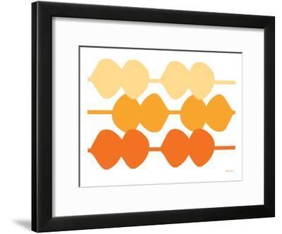 Orange Design, no. 95-Avalisa-Framed Art Print