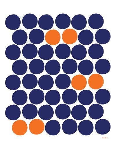 Orange Dots-Avalisa-Art Print