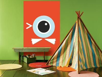 Orange Duck Eye-Avalisa-Giant Art Print