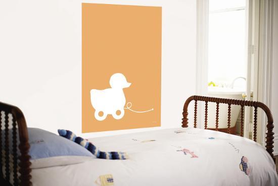 Orange Ducky-Avalisa-Wall Mural