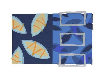 Orange Fish-Lee Crew-Premium Giclee Print