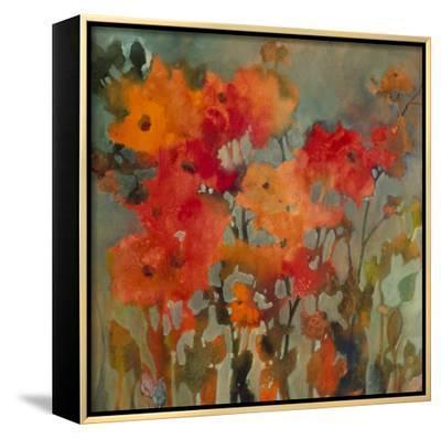 Orange Flower-Michelle Abrams-Framed Canvas Print