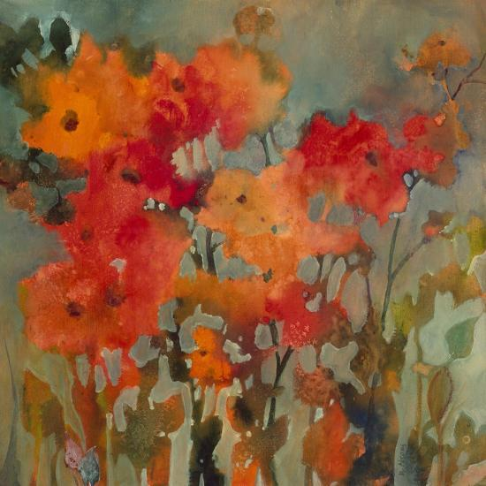 Orange Flower-Michelle Abrams-Premium Giclee Print