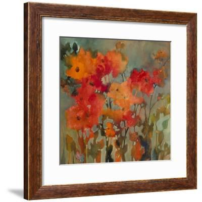 Orange Flower-Michelle Abrams-Framed Premium Giclee Print